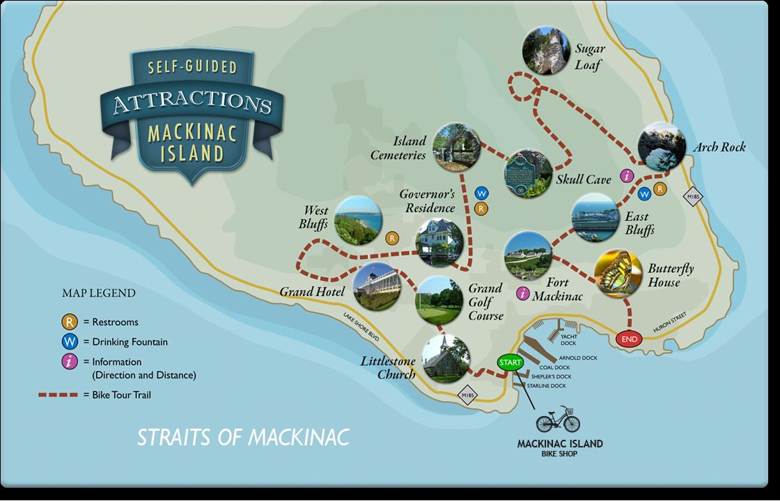 Welcome To Mackinac Island Bike Shop